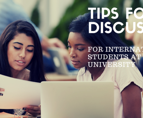 Tips for Discussions for International Students at University